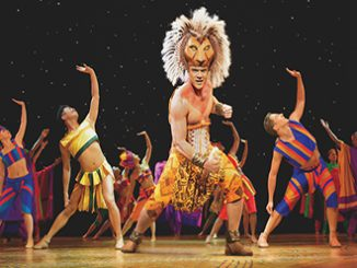 Nick Afoa as Simba in The LIon King