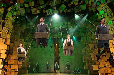 The Royal Shakespeare Company's production of Roald Dahl's Matilda. Photo_Manuel Harlan editorial