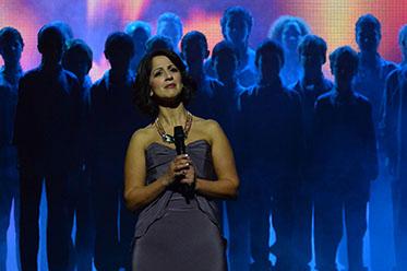 2013 Helpmann Awards_Silvie Paladino and Sydney Children's Choir