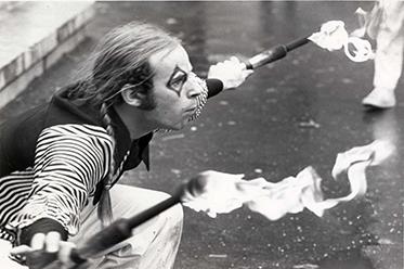 Guy Laliberte, 1983, Cirque du Soleil_editorial