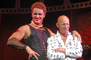 Craig McLachlan and Richard OBrien_photo by Shane OConnor