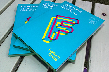 Melb Fringe Guides 2014 editorial