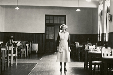 Bundoora Repatriation Mental Hospital_Ward Dining Room_c1930s