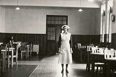Bundoora Repatriation Mental Hospital_Ward Dining Room_c1930s