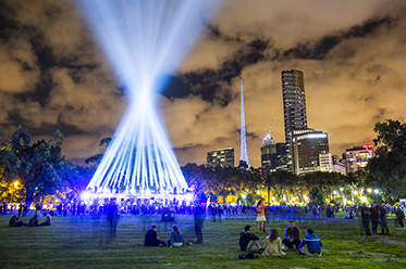 White Night Melbourne 2014_photo by Craig Silitoe