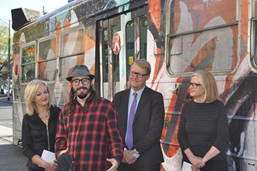 Art Tram Launch