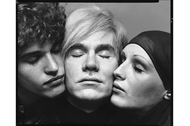 Andy Warhol, artist, with Jay Johnson and Candy Darling, actors, New York, August 20, 1969 editorial_main