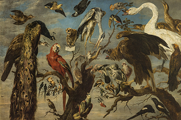 Frans Snyders, A concert of birds 1630–40