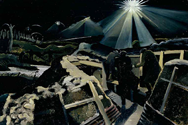 Paul Nash_Ypres Salient At Night