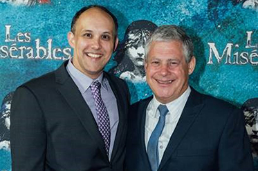Stuart Hendricks and Cameron Mackintosh