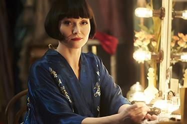 Essie Davis as Miss Phryne Fisher