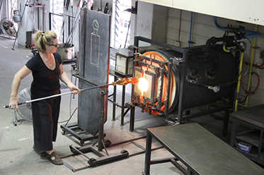 Glass blowing_Jam Factory Adelaide