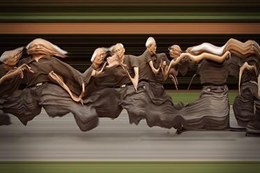 Daniel Crooks_Static No.12 (seek stillness in movement) 2010