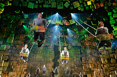 Matilda The Musical photo by James Morgan