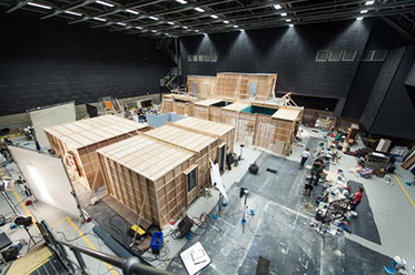 Arts Review Adelaide Studios The Babadook set construction