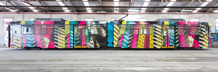 Melbourne Art Tram Amanda Morgan