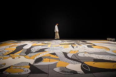 20BoS Lee Mingwei Guernica in Sand 2006 and 2015