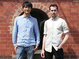 Wang Chong and Matthew Lutton photo by Jane Roberts