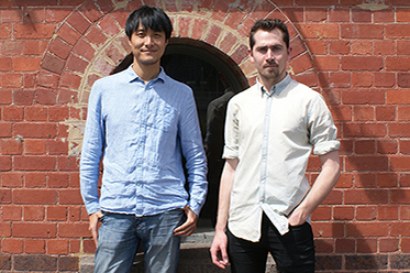 Wang Chong and Matthew Lutton photo by Jane Roberts