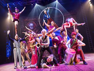 Circus Oz Ensemble 2015 photo by Rob Blackburn