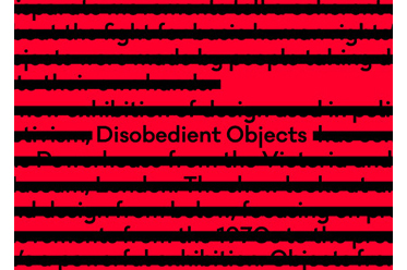 MAAS Disobedient Objects