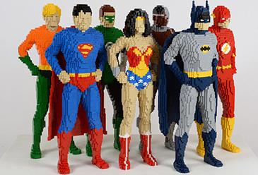 MAAS The Art of the Brick DC Comics