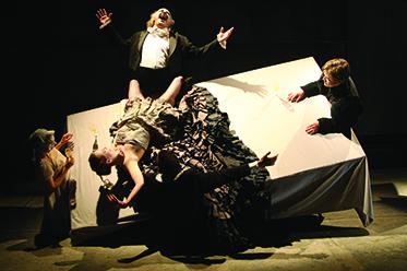 PIAF The Tiger Lillies Perform Hamlet photo by Martin Tulinius