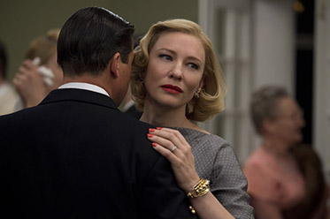 KYLE CHANDLER and CATE BLANCHETT star in CAROL