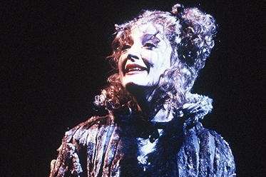 CATS Delia Hannah as Grizabella