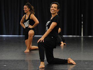 Frances Rings in rehearsal at NAISDA photo by Branco Gaica