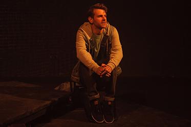 Nick Simpson-Deeks in Elegy - photo by Sarah Walker