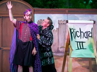 Shakespeare's Best Bits 2016 Anthony Rive and Kevin Hopkins photo by Ben Fon