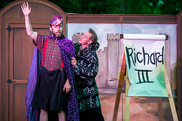 Shakespeares Best Bits 2016 Anthony Rive and Kevin Hopkins photo by Ben Fon
