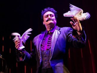The Illusionists 1903 Rick Thomas as The Immortal
