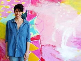 NSW Artist Mia Oatley
