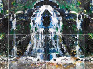 Ben Quilty Fairy Bower Rorschach 2012
