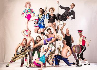 Circus Oz Ensemble 2016 - photo by Rob Blackburn