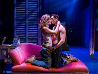 Ghost The Musical Jemma Rix and Rob Mills - photo by Claudio Raschella