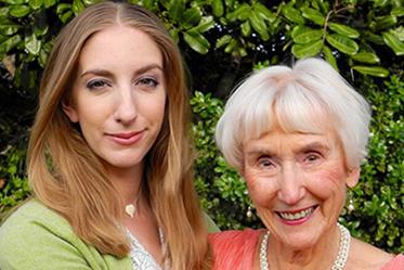 Ingrid Garner with her Grandmother Eleanor