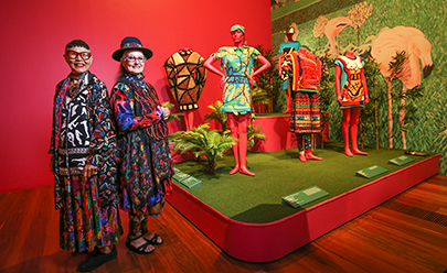 NGV Jenny Kee and Linda Jackson Flamingo Park Tribute