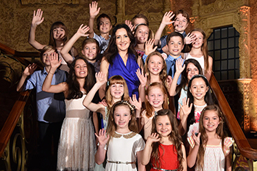 The Sound of Music Children's Cast Melbourne photo by Jim Lee