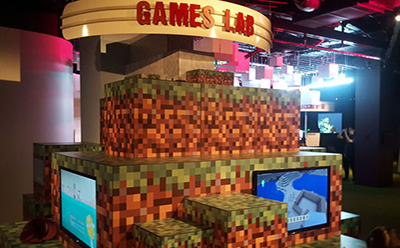 ACMI Games Lab Minecraft