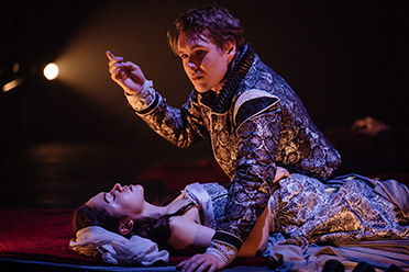 Bell Shakespeare Romeo and Juliet Kelly Paterniti Alex Williams photo by Daniel Boud