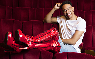 Kinky Boots Aust Callum Francis photo by Darren Bell