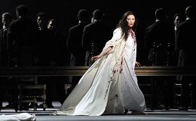 VO Jessica Pratt Lucia di Lammermoor Teatro La Fenice Venice photo by Michelle Crosera