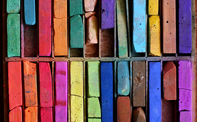 Chalk Stick Palette