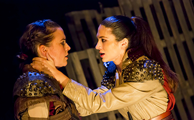 Heartstring Coriolanus Elisa Armstrong and Sarah Nicolazzo photo by Angel 3 Fates Media