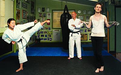 Belvoir Back at the Dojo photo by Brett Boardman