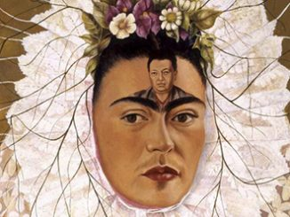 Frida Kahlo Diego on my mind (Self-portrait as Tehuana) 1943