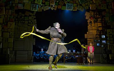 Matilda The Musical James Millar as Miss Truchbull photo by James Morgan